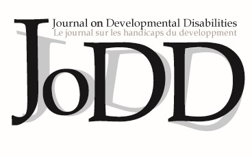 Journal on Developmental Disabilities